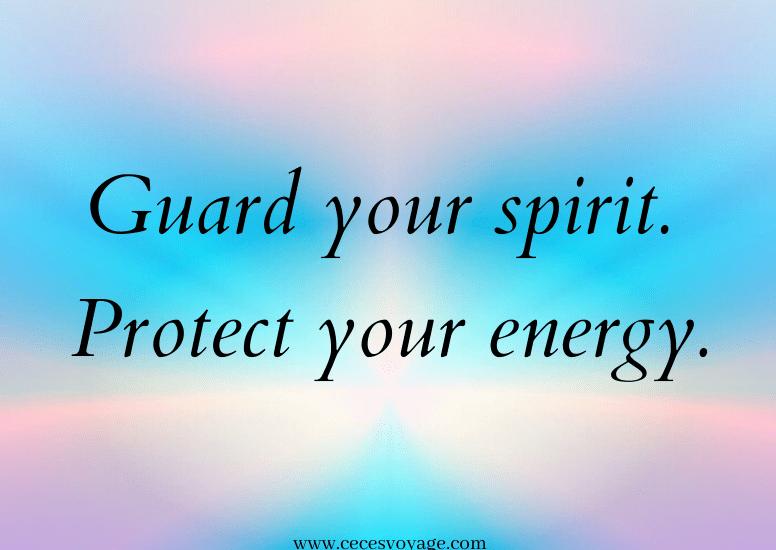 Guard Your Spirit